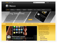 Nexus - August 2009 Joomla Template